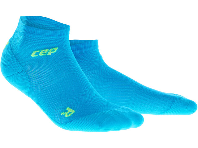 cep Dynamic+ Ultralight Low-Cut Socks Herr electric blue/green